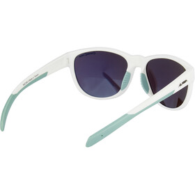 Alpina Nacan II Glasses white matt-pistachio/emerald mirror